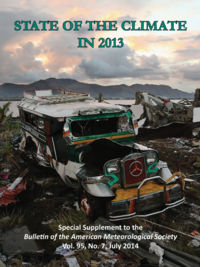 BAMS State of Climate 2013 Cover
