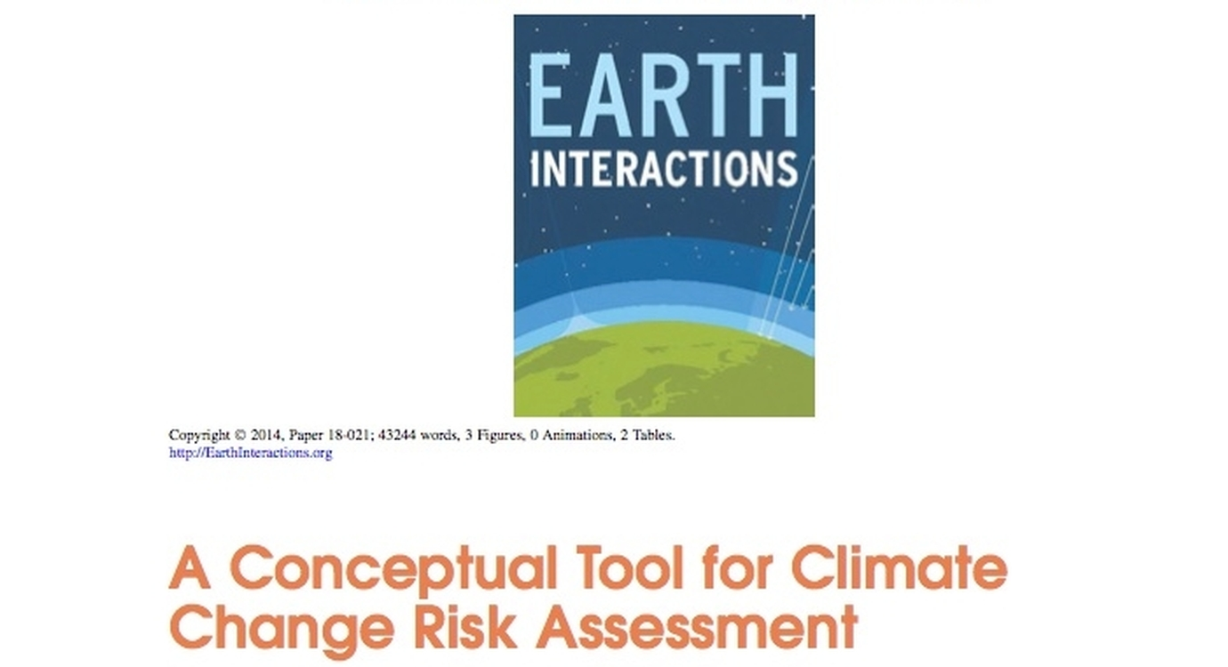 A Conceptual Tool for Climate Change Risk Assessment