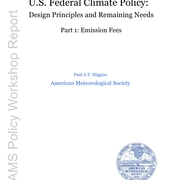 U.S. Federal Climate Policy: emission fees